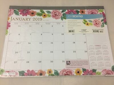 Bonnie Marcus 2019 Monthly Desk Pad Calendar by Browntrout