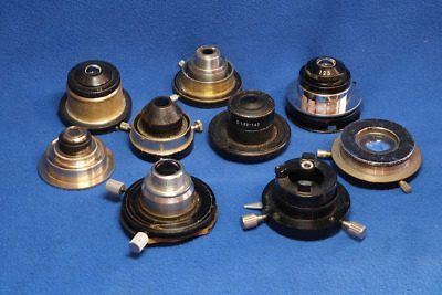 Microscope Condensers for Parts or Repair Various Makes