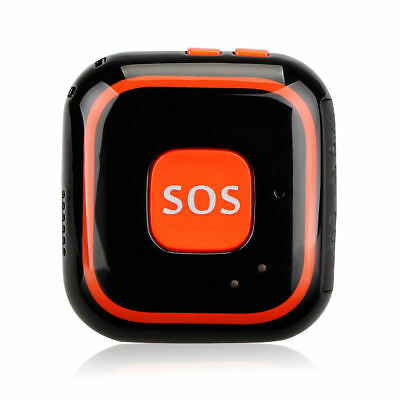 SOS GPS Locator Tracker System 2-way Talk Real Time For Kids Elderly Patient NEW