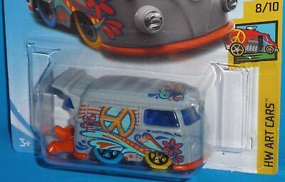 2018 HOT WHEELS VW Volkswagen Kool Kombi Col. #353/365 HW ART CARS 8/10