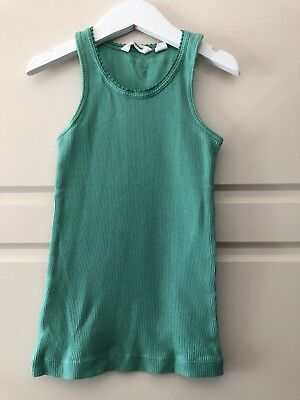 Country Road Girls Green Singlet - Size 4