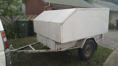 Covered 6x4 trailer