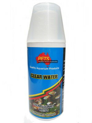Clear Water 1L Fish Aquarium Tank Water Treatment Conditioner Cleaning ANC-260