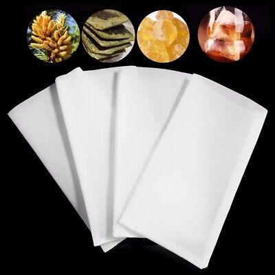 "Rosin Tech Screen Bags - 120 micron (2.5"" x 4.5"") - 50 Pack Press Filter Tea Bag"