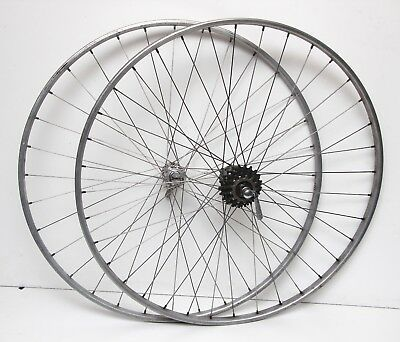 Ruote Campagnolo Super Record / Nisi - vintage wheel set 5 speed