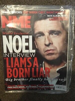 OASIS RARE / NOEL GALLAGHER, NME 23 July 2011,  NEW & sealed