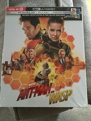 Ant Man And The Wasp Target Exclusive 4K UHD + Blu-ray + Digital HD New