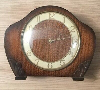 Smiths Enfield Mantle Clock Spares or Repairs
