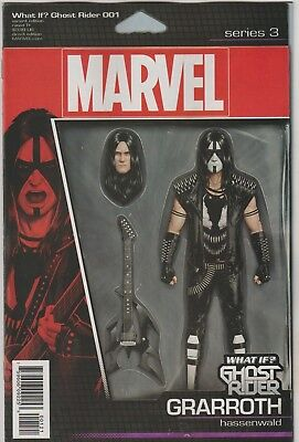 Marvel Comics What If Ghost Rider #1 December 2018 Action Figure Variant Nm