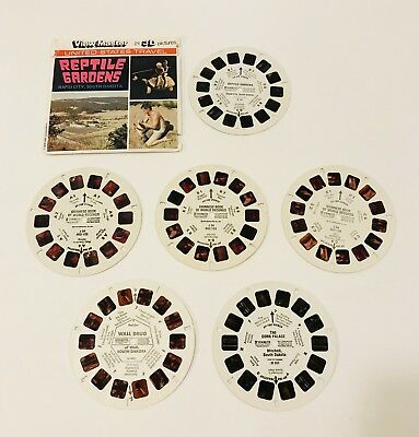 South Dakota Viewmaster reels Corn Palace Wall Drug Reptile Gardens and Guinness