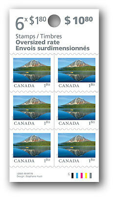 2018-From Far and Wide: Oversized-rate Stamps ($1.80)  Booklet of 6 -   MNH