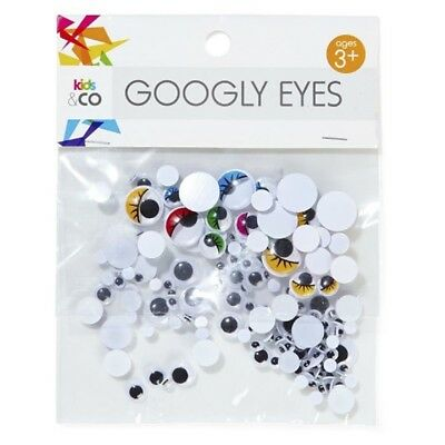 12Pack x 160Pcs Joggle Eyes/Movable Eyes Googly Eyes for Crafts Mixed Size