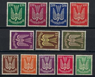 Germany 1922 Sc# C3-14 set Airmail Carrier Pegion MNH