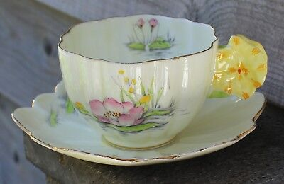 Paragon water lilies cup and saucer BEAUTY!!