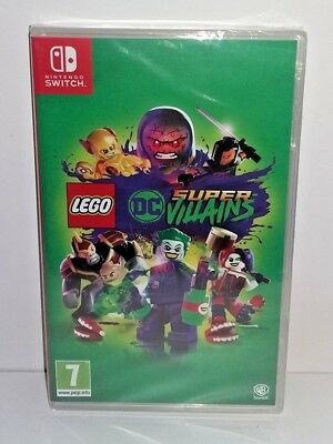 Lego DC Super Villains SWITCH NUOVO SIGILLATO ITA