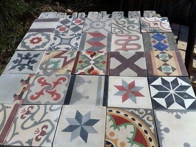 Reclaimed Tile From Andalucia, Spain. In Perfect State Ready To Be Used