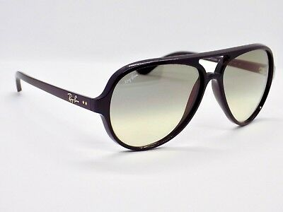 Ray Ban Cats 5000 RB4125 601/32 Aviator & Case