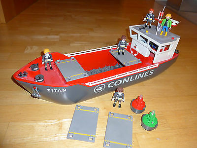 playmobil 4472 Großes Containerfrachtschiff