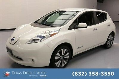 2013 Nissan Leaf SL Texas Direct Auto 2013 SL Used Automatic FWD Hatchback