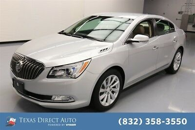 2014 Buick Lacrosse Leather Texas Direct Auto 2014 Leather Used 3.6L V6 24V Automatic FWD Sedan OnStar