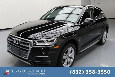 2018 Audi Q5 2.0T quattro Premium Plus Texas Direct Auto 2018 2.0T quattro Premium Plus Used Turbo 2L I4 16V Automatic