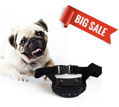 Electric Anti Bark Collar for Dogs No Barking Tone / Shock for Training