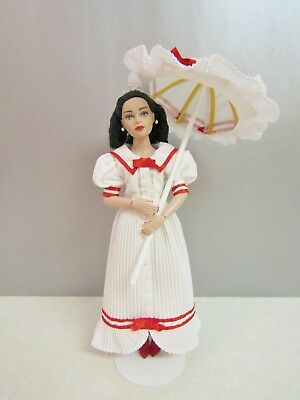 "Tonner 10"" Tiny Kitty Doll with Bending Arms in VICTORIAN Outfit with Parasol"
