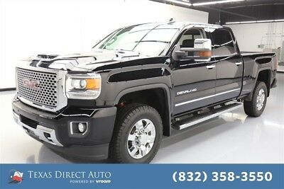 2017 GMC Sierra 3500 Denali Texas Direct Auto 2017 Denali Used Turbo 6.6L V8 32V Automatic 4WD Pickup Truck