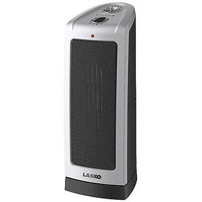 Electric Oscillating Ceramic Tower Home Portable Space Heater Adjustable Lasko