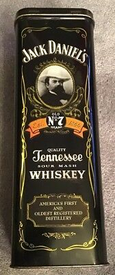 Jack Daniels Tennessee Sour Mash Whiskey Empty Tin