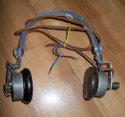 Air Ministry Headphones 10A/4445 Tested 82 Ohm Imp
