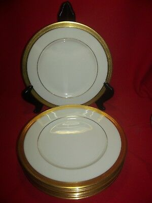 Lenox China Lowell Set of 8 Salad Plates