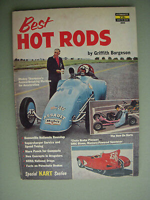 1960 Best Hot Rods by Griffith Borgeson Fawcett How-to-Book #465