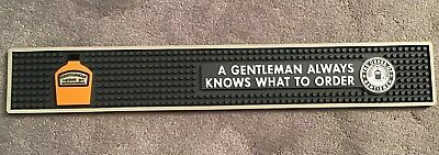 New Jack Daniels Gentleman Jack Always Knows What To Order Thick Rubber Runner