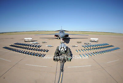 B-1 BONE Bomber weapons capability loadout  8 x 12