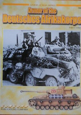 """""""Armor of the Deutsches Afrikakorps"""" CONCORD Publ. 7021"""