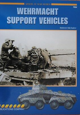 """""""Wehrmacht Support Vehicles"""" CONCORD Publ. 7024"""