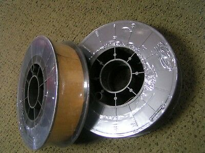 "Two 11 Lb Spools .ER70S-6 x 030"" Mild Steel MIG Welding Wire"