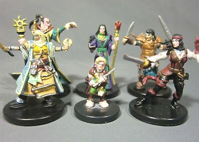 Dungeons & Dragons Miniatures Lot Powerful Character Party !! s92