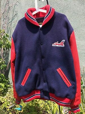 Family Airlines Coat XL Letterman Heavy Coat