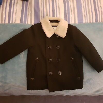 Mothercare Fur Collar Coat 18-24mth