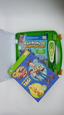 Leap Frog Reader Tag Pen Stylus Reading System 2 Books excellent used condition