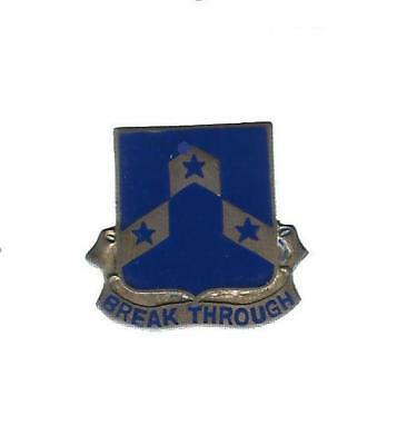 30Th Infantry Division 117Th Infantry Pin Back Sterling Crest/di Asmic #117 A-1