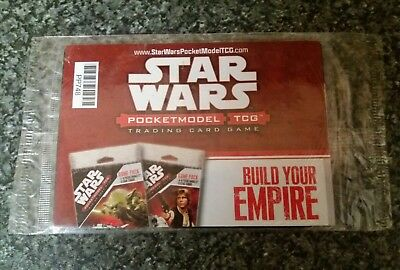 Star Wars Pocket Model Trading Card Game Pack NEW