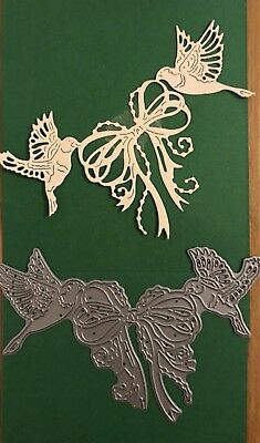 Tattered Lace Birds And Bow Die - Not In Packaging