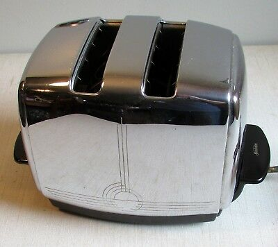 Gorgeous Vintage Sunbeam T-20B Radiant Electric Toaster - Early 1950s, Nice!