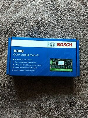Bosch B308 Octo-Output Module NEW FACTORY SEALED FREE SHIPPING