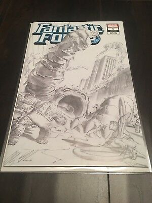 FANTASTIC FOUR 1 ALEX ROSS EXCLUSIVE 1961 B&W HOMAGE VARIANT Only 1000 Printed