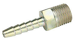 Draper 25842 Packed 1/4 Taper 3/16 Bore PCL Male Screw Tailpieces Pack Of 5