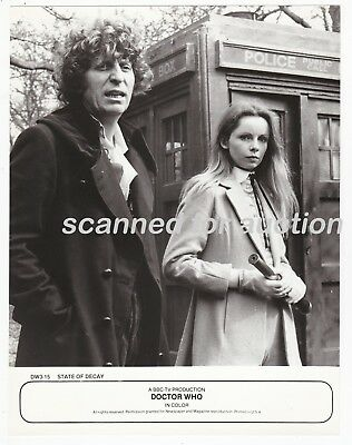 Dr Who - Tom Baker Incarnation - Group Of 5 Vintage Publicity Photos